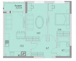 Квартира ул. Уютная, пос. Большое Исаково
