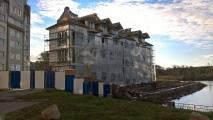 27октября2016 - Фото строительства дома третьей очереди ЖК Дом у лесного озера