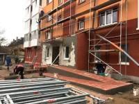 18ноября2016 - Дом ул. Беговая, 43-45. Фото строительства