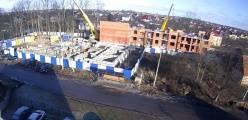 04марта2016 - ЖК на Янтарной, ход строительства, фото.