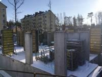 21февраля - Фото строительства дома на ул. Сосновая в Светлогорске