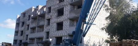 21июня2017 - Фото строительства дома на ул. гурьевской, 25 в пос. Невское