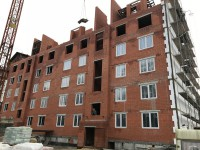 03октября2017 - Фото строительства дома на ул. Докука, 27Б