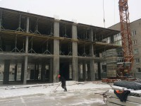 15февраля - Фото строительства дома на ул. Красносельской, 58 в Пионерском