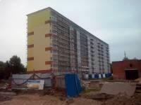 31августа - Фото строительства блок-секций на ул. Богатырской, 35