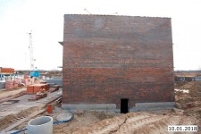 10января - Фото строительства ЖК на ул. Рабочей