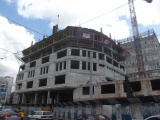 15августа2017 - Фото строительства административного здания на ул. Фрунзе