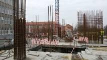 05апреля2017 - Фото строительства административного здания на ул. Фрунзе