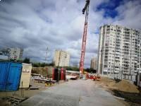 28апреля - Фото строительства ЖК Янтарь