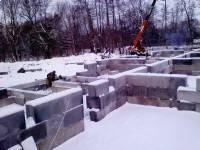 24января - Фото строительства дома на ул. И. Земнухова