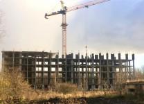 14ноября2017 - Фото строительства жилого дома на ул. Окружной в Зеленоградске