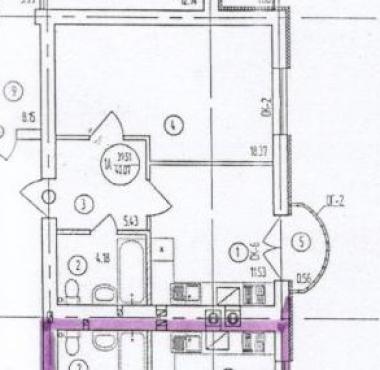 1-комнатная квартира Рабочая, Пионерский