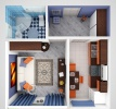 1-комнатная квартира Калининград, Изумрудная