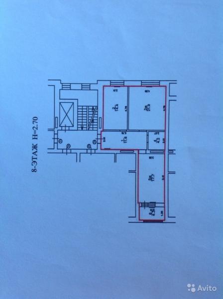2-комнатная квартира Шахматная , Калининград