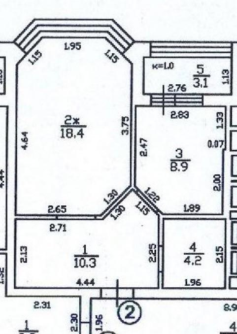 1-комнатная квартира Тургенева, Зеленоградск
