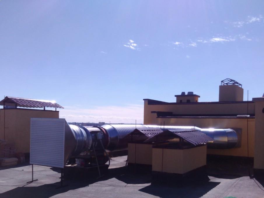 Проект Устройство системы общеобменной вентиляции и подпора воздуха