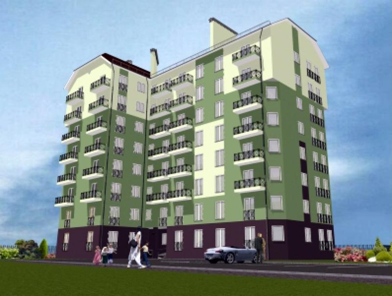 Жилые дома на ул. Суворова