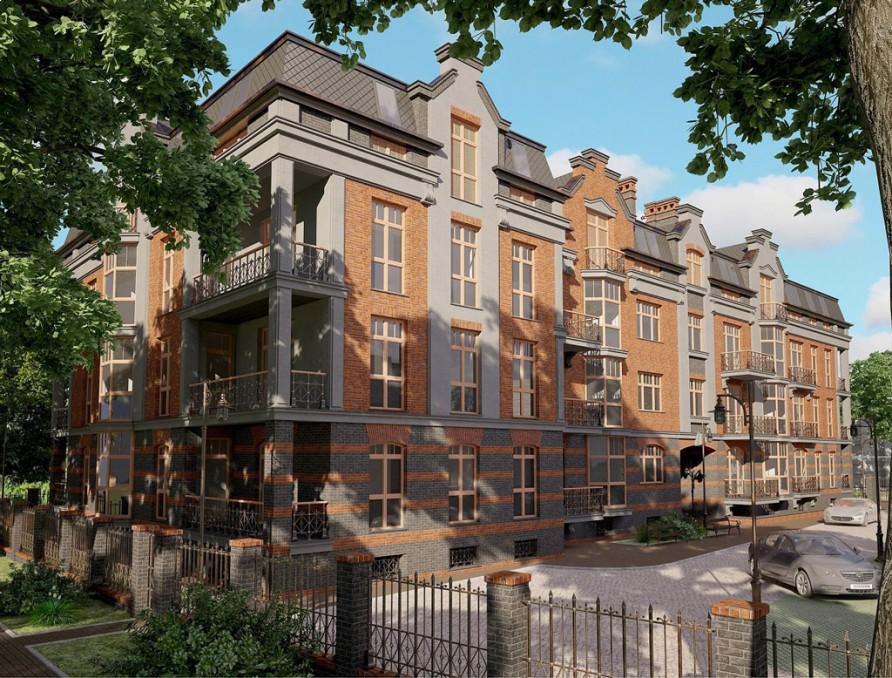 Проект Многоквартирный жилой дом по ул. Энгельса