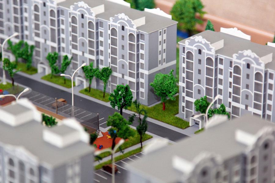 Проект Макет жилого комплекса «Грюнштадт»
