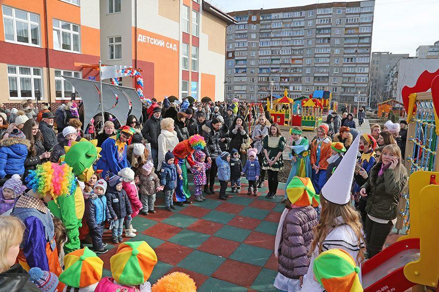 На Солнечном бульваре открылся новый детский сад