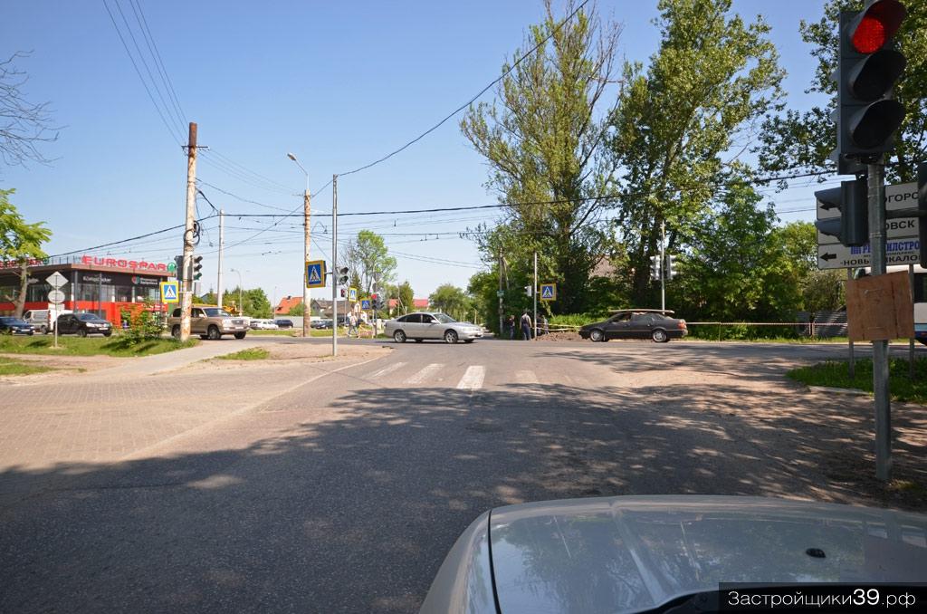 Советский проспект реконструируют от улицы Маршала Борзова до Чкаловска