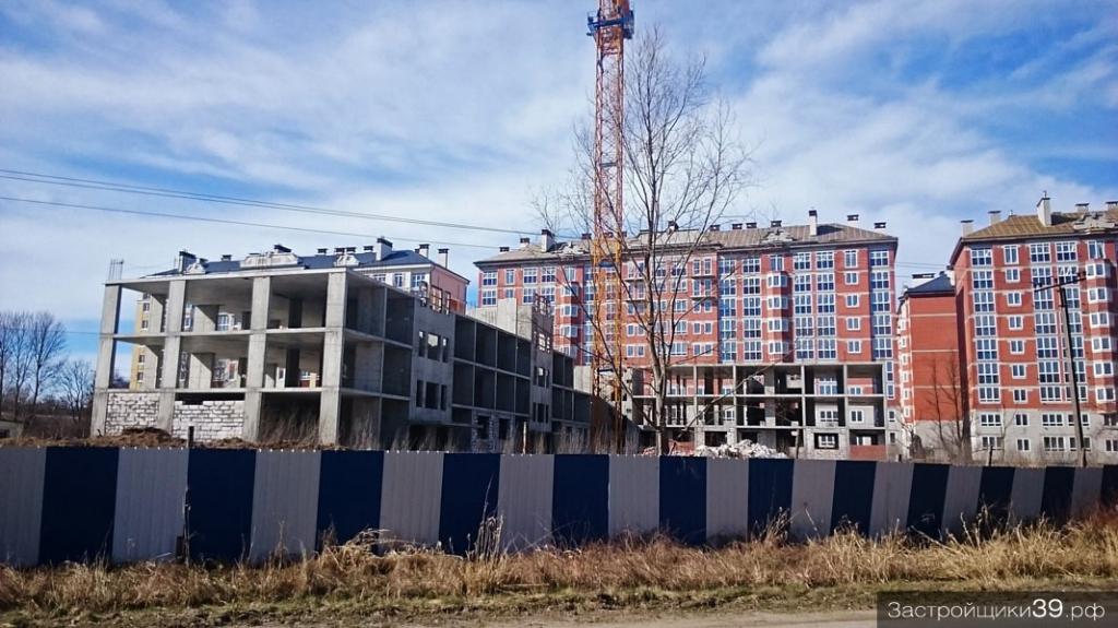 Застройщик «КСТ-Зеленоградск» купил жилой недострой на улице Окружной в Зеленоградске