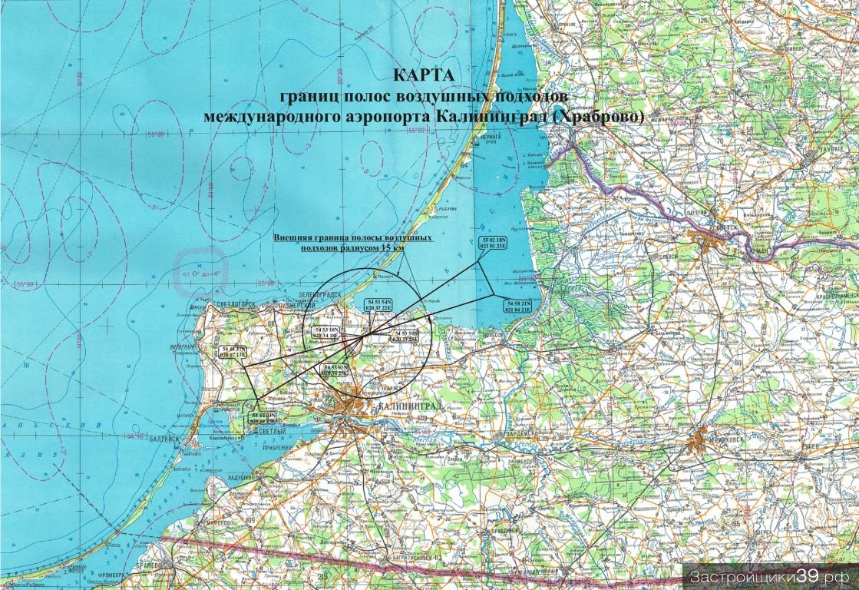 Установлены значительные ограничения застройки территорий города и области