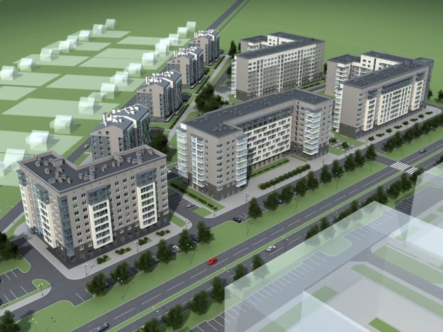 Проект Концепция застройки ЖК «Новая Сельма»