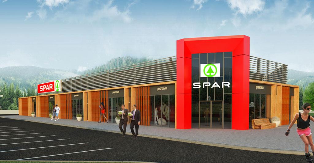 Проект ТЦ SPAR в Зеленоградске
