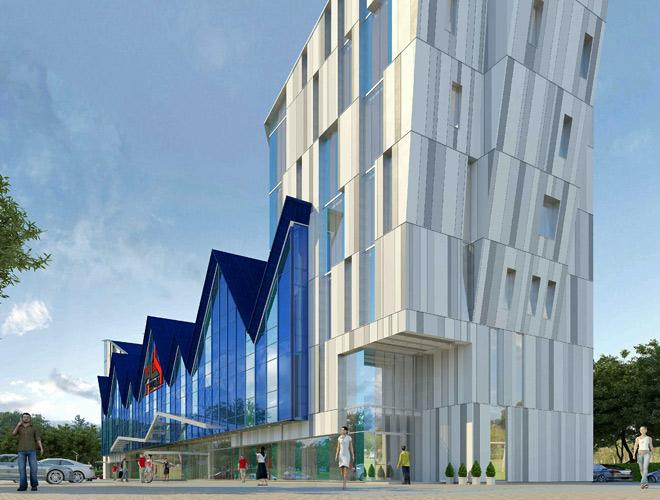 Проект Реконструкция административно-торгового здания