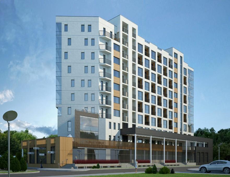 Проект Реконструкция гостиницы CRYSTALL в Светлогорске