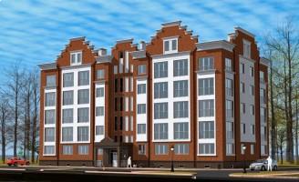 Апартаменты Гостиничный комплекс с апартаментами в Зеленоградске