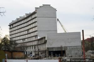 Долгострой на ул. Ю. Гагарина – Орудийной - пер. Полевом: дольщикам рекомендуют обратиться в Арбитражный суд