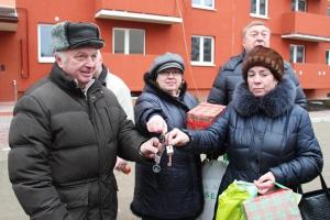 Еще 7 обманутых дольщиков «КЖС» получили квартиры на ул. Дзержинского в Калининграде