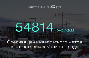 С разбегом в четвертак: сколько стоит «квадрат» в новостройках Калининграда и области
