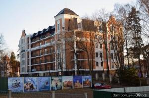 В центре Светлогорска все-таки появится еще один апарт-отель за 448 млн рублей