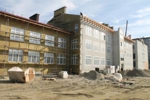 В новом детском саду на Острове строители уже приступили к внутренней отделке
