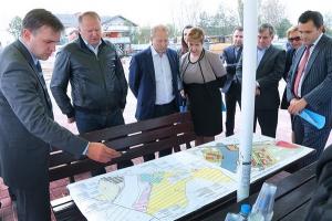 Завершился первый этап строительства яхтенной марины на реке Тростянка