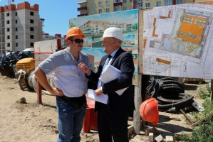 Школа на Аксакова за 1,3 млрд рублей: готовность объекта — 27%